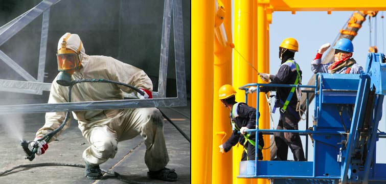 industrial painting| painting services