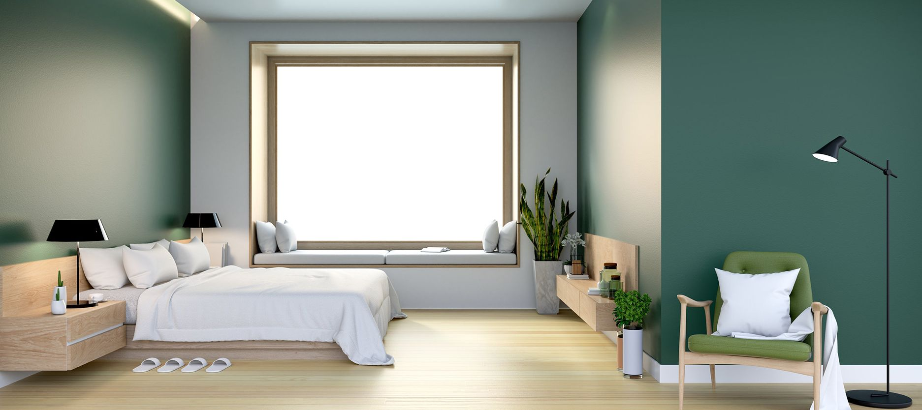 Bed room Design | Painting services